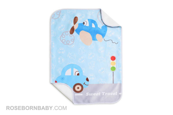 Picture of infant changing mat sweet travel