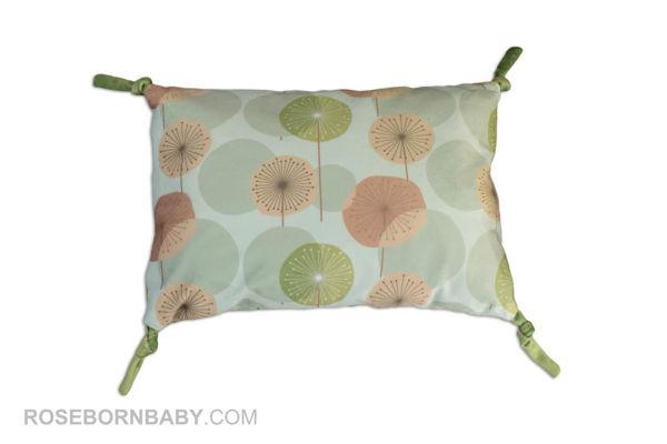 Picture of knot shape pillow dandelion