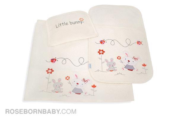 تصویر از سرویس خواب سه تکه مسافرتی طرح LITTLE BUNNY