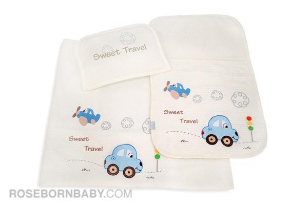 تصویر از سرویس خواب سه تکه مسافرتی طرح SWEET TRAVEL
