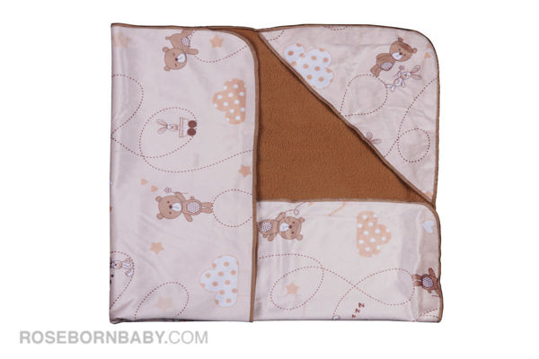 Picture of Hooded swaddle blanket bear & kite