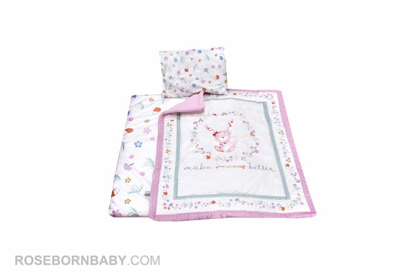 Picture of 3 pieces nursery crib set merry mom