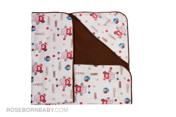 Picture of Hooded swaddle blanket bear & ball