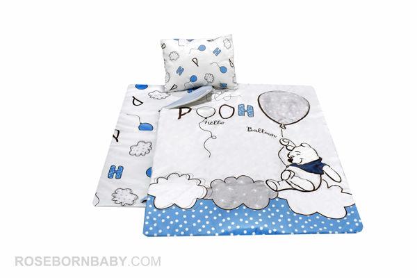 تصویر از سرویس خواب سه تکه  HELLO POOH-BLUE