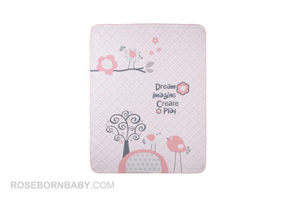 Picture of cotton swaddle blanket little bunny